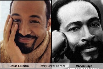 Jesse L Martin Totally Looks Like Marvin Gaye