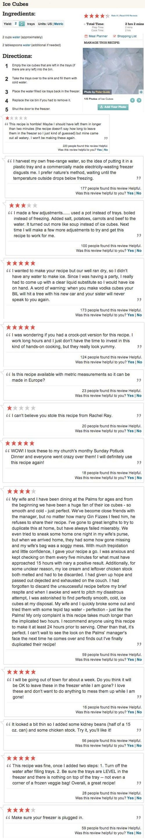comments,recipe,food