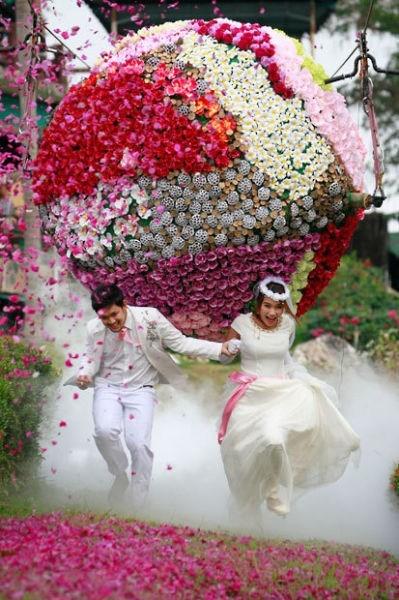 Katamari Damacy,chase,ball,flowers
