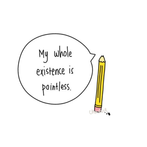 Existential Pencil is Having Some Existenz Issues Right Now