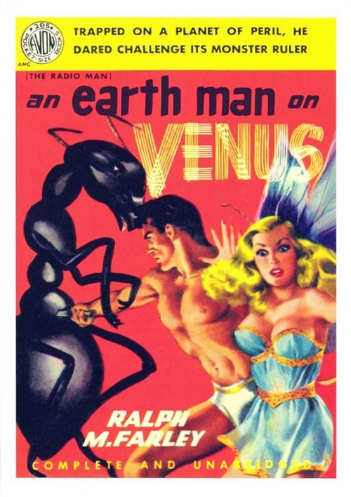 WTF Sci-Fi Book Covers: An Earth Man on Venus