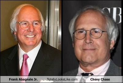 Frank Abagnale Jr. Totally Looks Like Chevy Chase