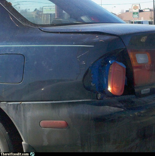 """Glad"" He Fixed His Tail Light"