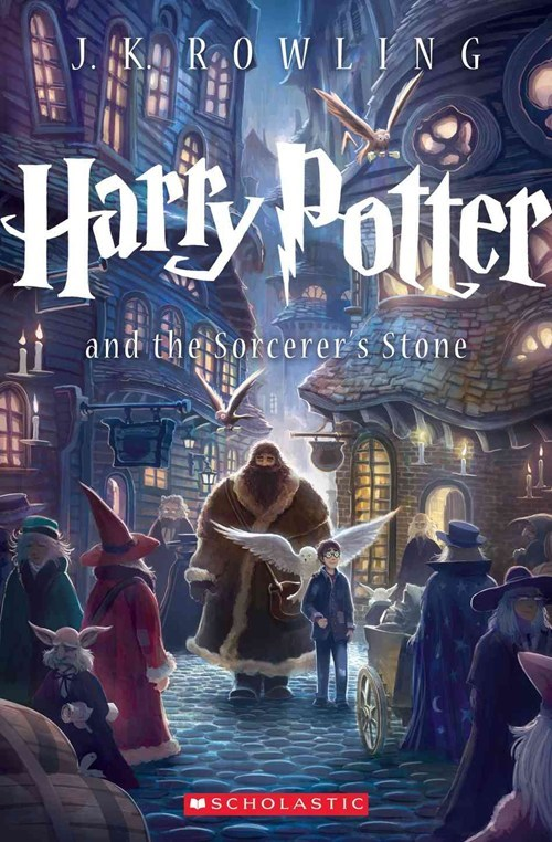 Check Out Harry Potter's New Cover Art