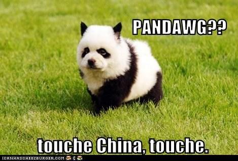 Touche China, touche.