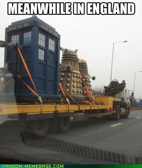 The Doctor Asked For a Lift