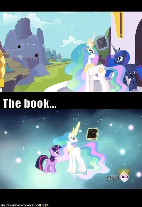 The book...