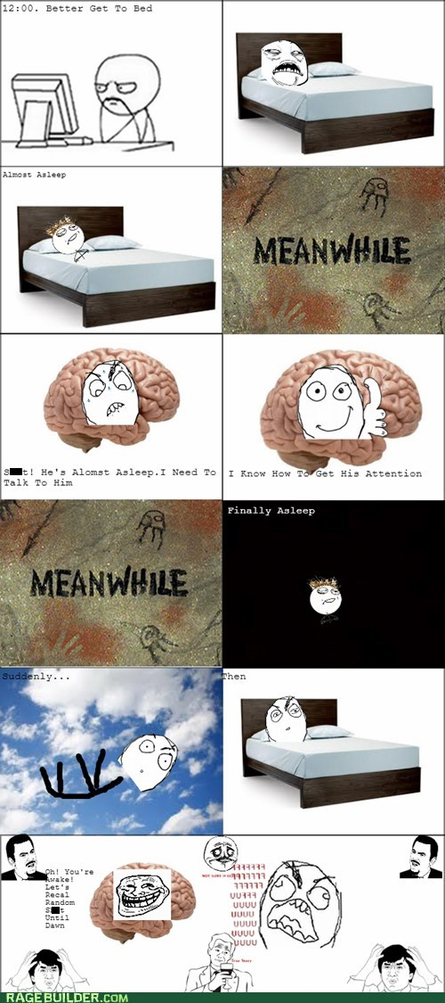 Why I Never Concentrate