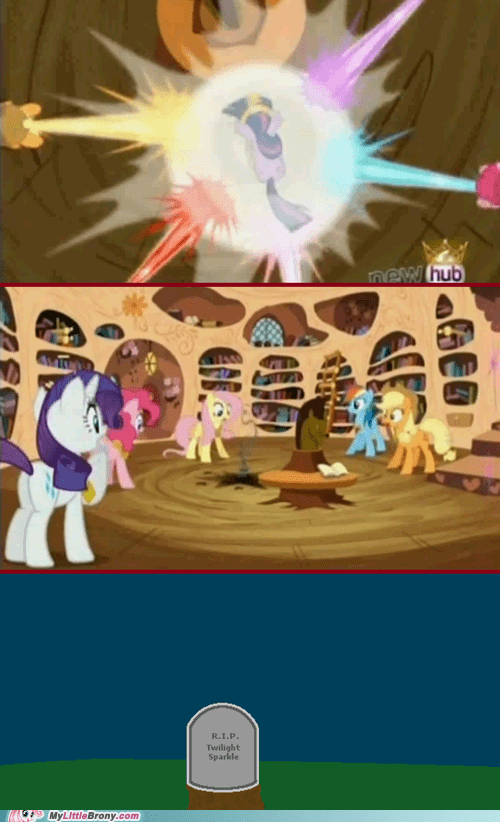 R.I.P. Twilight Sparkle