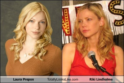 Laura Prepon Totally Looks Like Riki Lindholme