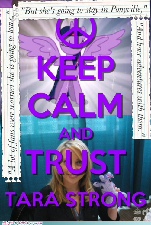 Who Needs Writers? TRUST TARA!!!