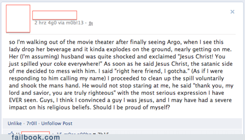 argo,trolling,jesus christ,g rated,win