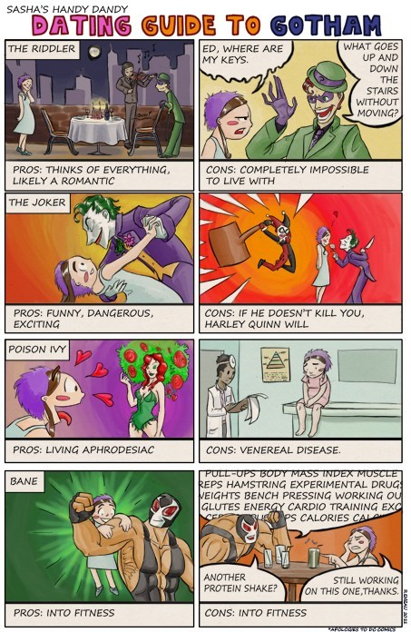 A Dating Guide to Gotham