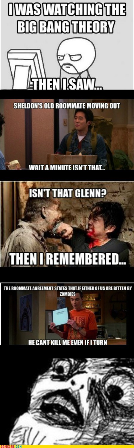 The Walking Dead,big bang theory,TV,mind =blown,mind =blown,mind =blown,mind =blown