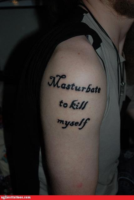 arm tattoos,mottos,Ugliest Tattoos