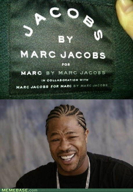Yo Marc Jacobs, I Heard You Like Your Name