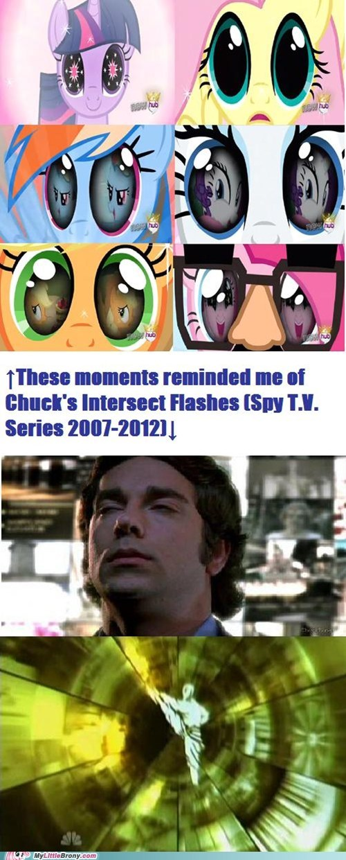 My Little Pony Reminded Me of Chuck