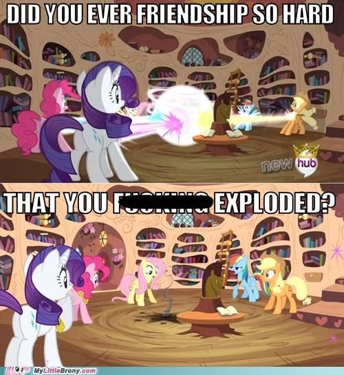 Friendship is explosive