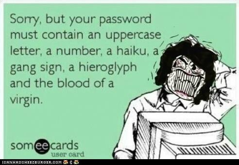 Password, please.