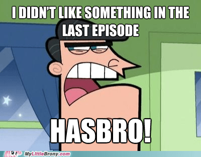 When in Doubt, Blame Hasbro