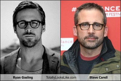 Ryan Gosling Totally Looks Like Steve Carell