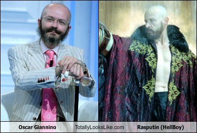 Oscar Giannino Totally Looks Like Rasputin (HellBoy)