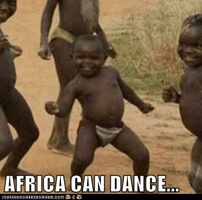 AFRICA CAN DANCE...