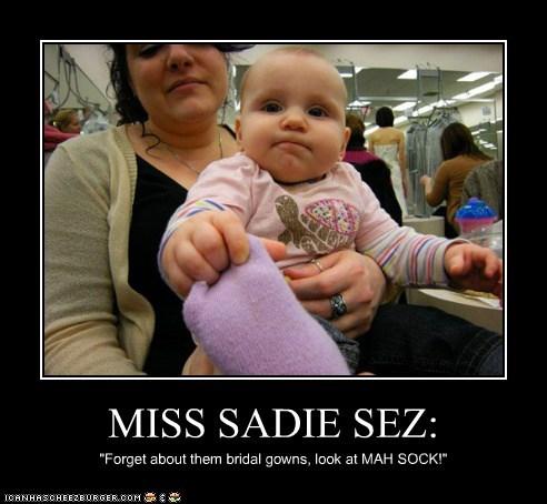 MISS SADIE SEZ:
