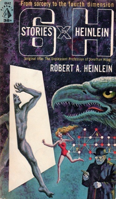 WTF Sc-Fi Book Covers: Six Stories by Heinlein
