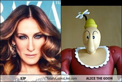SJP Totally Looks Like ALICE THE GOON