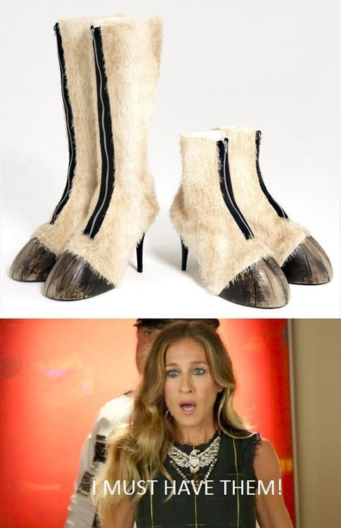 shoes,sarah jessica parker,horses