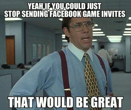 If You Could Also Stop Commenting on My Status