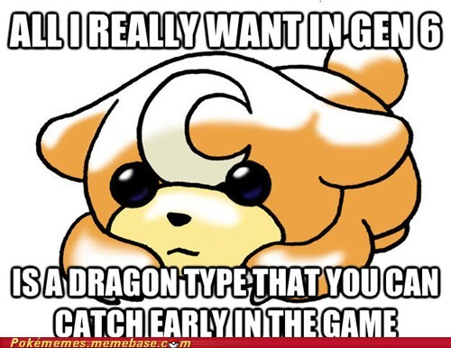 We All Love Dragon Type Pokémon