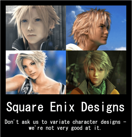 Variety Is the Spice of Square Enix