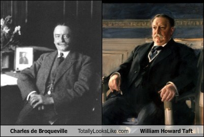 Charles de Broqueville Totally Looks Like William Howard Taft