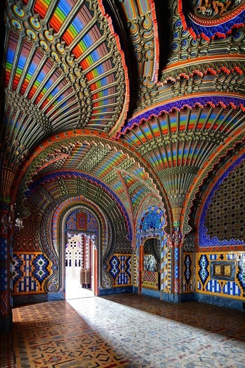 Enjoy the Colors at the Castello di Sammezzano in Reggello, Tuscany, Italy