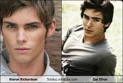 Kieron Richardson Totally Looks Like Zac Efron