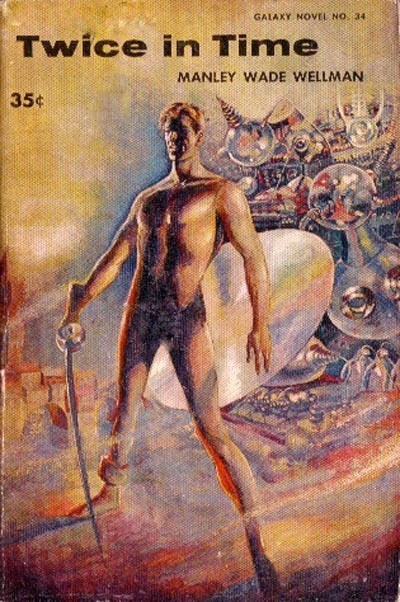 WTF Sci-Fi Book Covers: Twice in Time
