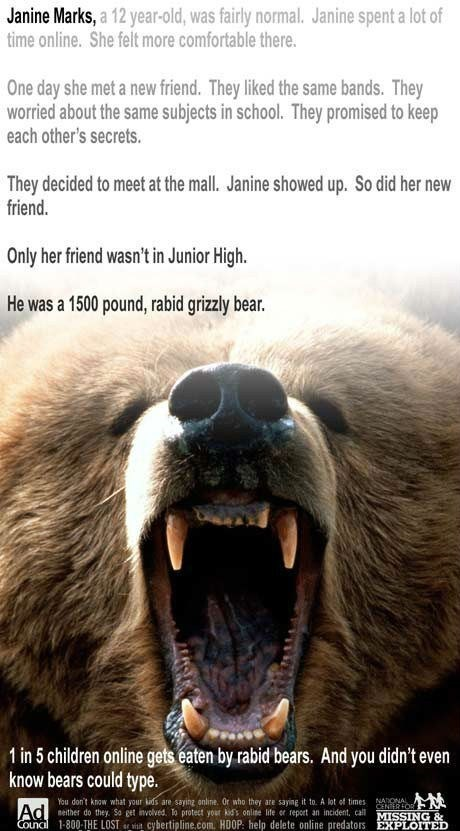 The More You Know: Bears Can Type