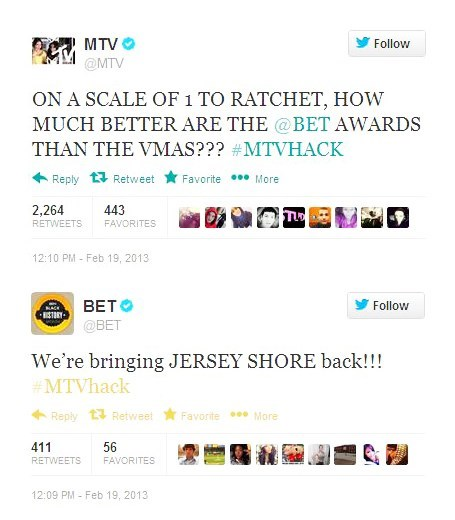 MTV and BET Join Burger King in the Ranks of Hacked Twitter Accounts