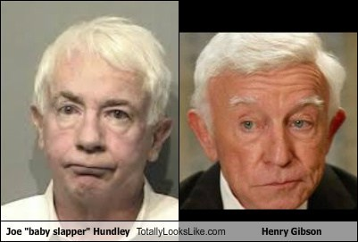 "Joe ""Baby Slapper"" Hundley Totally Looks Like Henry Gibson"
