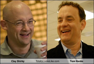 Clay Shirky Totally Looks Like Tom Hanks