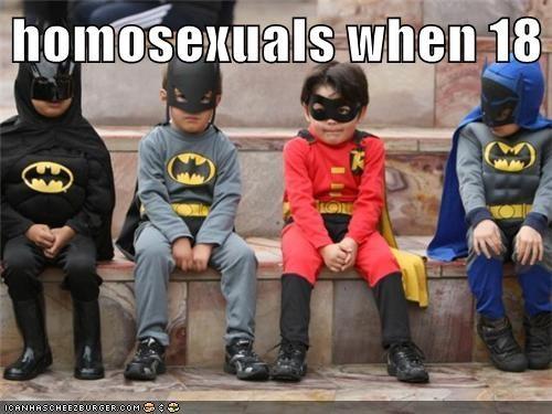 homosexuals when 18