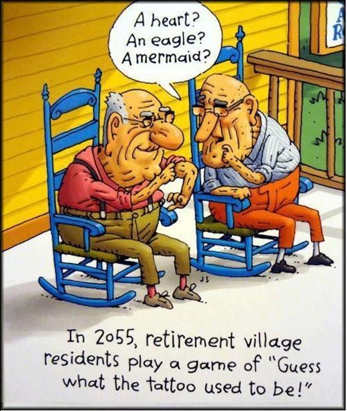 guessing games,retirement homes,comics