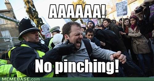 British police brutality