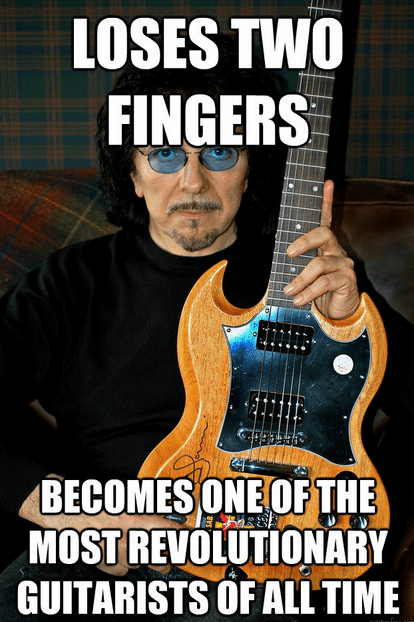 Tommy Iommi Does More With 6 Strings and 6 Fingers Than Most Guitarists Today Do With 7 Strings and 8 Fingers