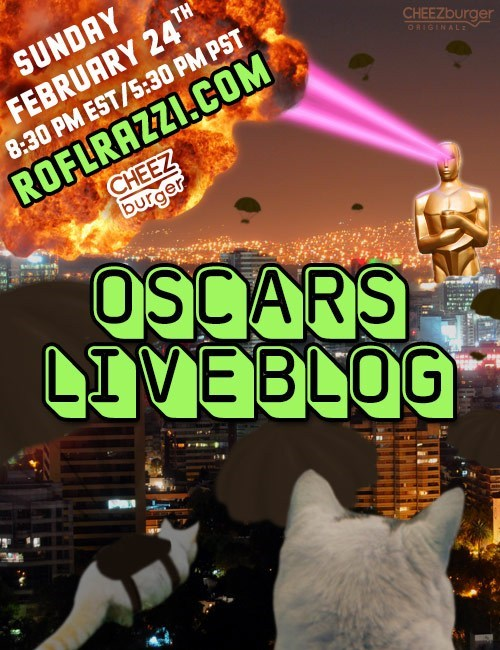 ROFLrazzi Presents: Academy Awards Live Blog 2013!
