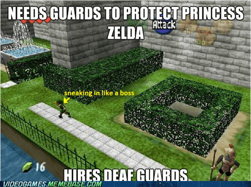 Damn it Hyrule, Get it Together