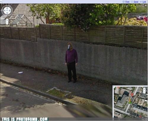 horse head mask,google street view