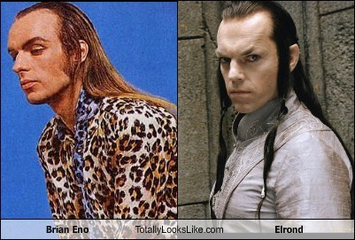 Brian Eno Totally Looks Like Elrond
